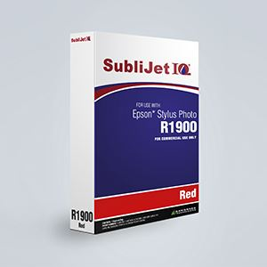 Picture of SubliJet IQ XG 8, Epson R1900, Red, 110ml, Refill Bag