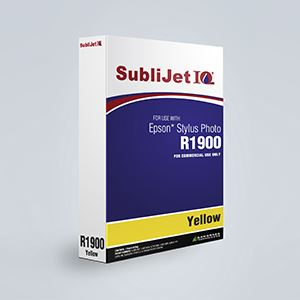 Picture of SubliJet IQ XG 8, Epson R1900, Yellow, 110ml, Refill Bag