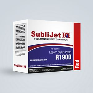 Picture of SubliJet IQ, Epson R1900, Red (Pos 4), 14-16ml