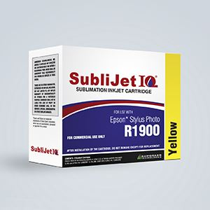 Picture of SubliJet IQ, Epson R1900, Yellow (Pos 1), 14-16ml