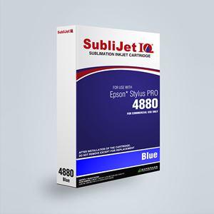 Picture of SubliJet IQ XG 8, Epson 4880, Blue (Pos 5), 110ml