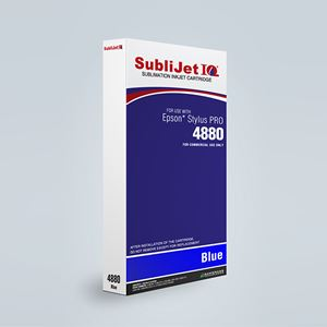 Picture of SubliJet IQ XG 8, Epson 4880, Blue (Pos 5), 220ml