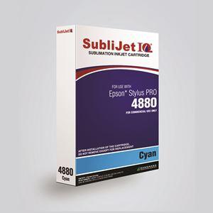 Picture of SubliJet IQ XG 8, Epson 4880, Cyan (Pos 2), 110ml