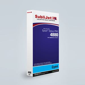 Picture of SubliJet IQ XG 8, Epson 4880, Cyan (Pos 2), 220ml