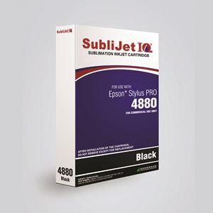 Picture of SubliJet IQ XG 8, Epson 4880, Jet Black (Pos 1), 110ml
