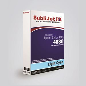 Picture of SubliJet IQ XG 8, Epson 4880, Light Cyan (Pos 6), 110ml