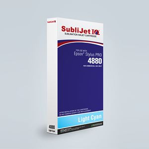 Picture of SubliJet IQ XG 8, Epson 4880, Light Cyan (Pos 6), 220ml