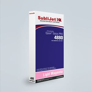 Picture of SubliJet IQ XG 8, Epson 4880, Light Magenta (Pos 7), 220ml
