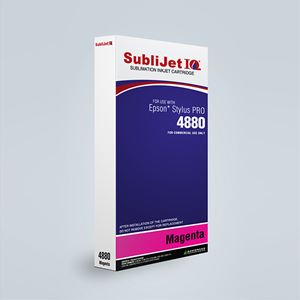 Picture of SubliJet IQ XG 8, Epson 4880, Magenta (Pos 3), 220ml