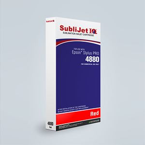 Picture of SubliJet IQ XG 8, Epson 4880, Red (Pos 8), 220ml