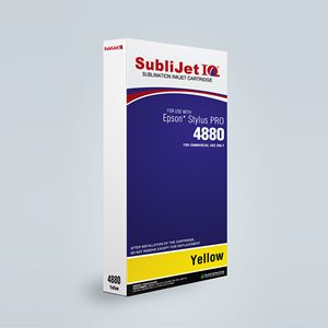 Picture of SubliJet IQ XG 8, Epson 4880, Yellow (Pos 4), 220ml