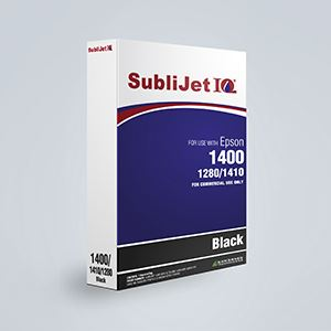 Picture of SubliJet IQ, Epson 1400/1430, Black, 110ml