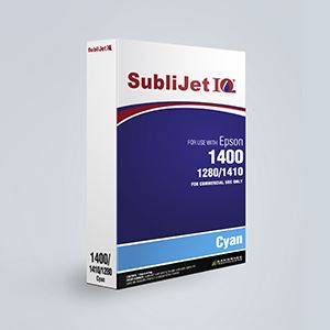 Picture of SubliJet IQ, Epson 1400/1430, Cyan, 110ml