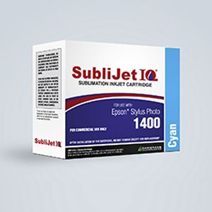 Picture of SubliJet IQ, Epson 1400/1430, Cyan, 14-16ml