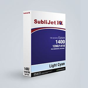 Picture of SubliJet IQ, Epson 1400/1430, Light Cyan, 110ml