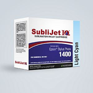 Picture of SubliJet IQ, Epson 1400/1430, Light Cyan, 14-16ml