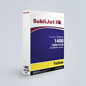 Picture of SubliJet IQ, Epson 1400/1430, Yellow, 110ml