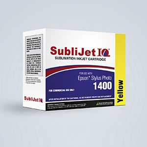 Picture of SubliJet IQ, Epson 1400/1430, Yellow, 14-16ml