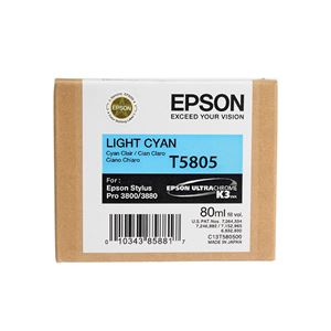 Picture of Epson T580500 UltraChrome K3 Ink 80ml Light Cyan