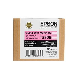 Picture of Epson T580600 UltraChrome K3 Ink 80ml Light Magenta