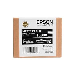 Picture of Epson T580800 UltraChrome K3 Ink 80ml Matte Black