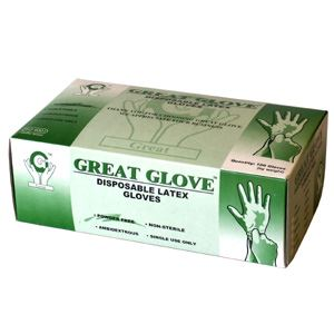 Picture of Gloves, Powder-Free Latex, Large, 100/PK