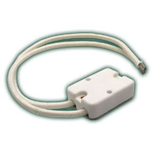 Picture of Lamp Socket, 2 Pin Base, 2 Wire