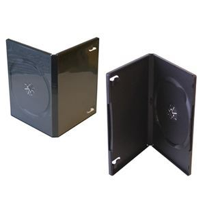 Picture of DVD, Case, Single, 14mm Black, 100/CS