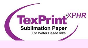 "Picture of TexPrintXPHR-Sublimation Paper, 13"" x 300', 105GSM, 2"" Core, 1 roll per case"
