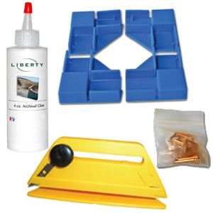 Picture of Standard Gallery Wrap Corner Kit (includes trimmer)