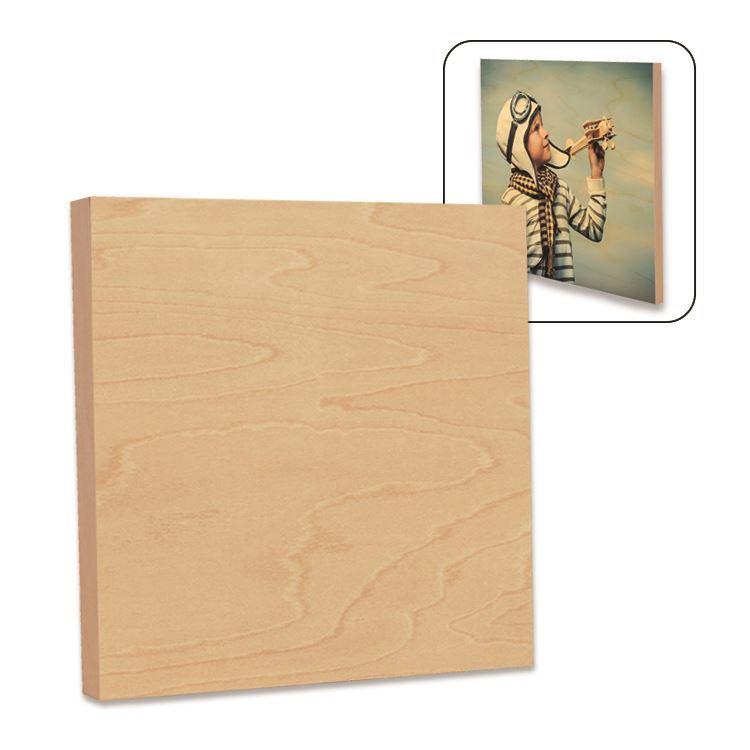 Pakor Blank Dye Sublimation Natural Wood Panel Low