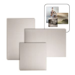 """Picture of Blank Sublimation Aluminum, Clear Gloss - 11.75"""" x 11.75"""""""