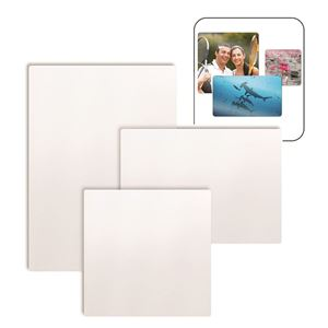 "Picture of Blank Sublimation Aluminum, White Matte - 11.75"" x 11.75"""