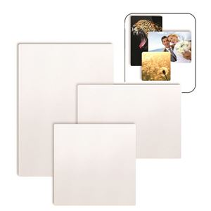 """Picture of Blank Sublimation Aluminum, White Semi-Gloss - 2"""" x  3"""""""