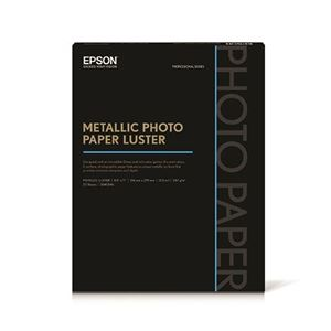"Picture of Epson Metallic Photo Paper Luster – 8.5"" x 11"" (25 sheets)"