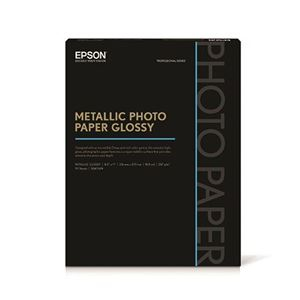 "Picture of Epson Metallic Photo Paper Glossy – 8.5"" x 11"" (25 sheets)"