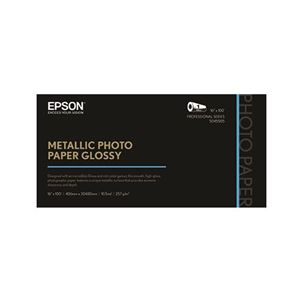 "Picture of Epson Metallic Photo Paper Glossy – 16"" x 100"" (1 roll)"