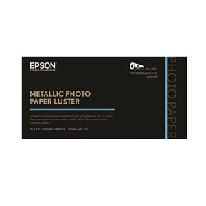 "Picture of Epson Metallic Photo Paper Luster – 36"" x 100"" (1 roll)"