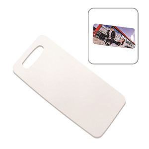 "Picture of Blank Sublimation Rectangle Bag Tag - 2.75"" x 4"""