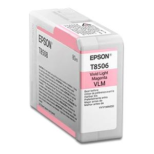 Picture of Epson T850600 UltraChrome Ink 80ml Vivid Light Magenta