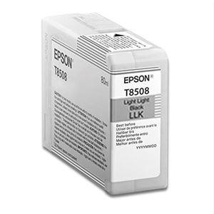 Picture of Epson T850900 UltraChrome Ink 80ml Light Light Black