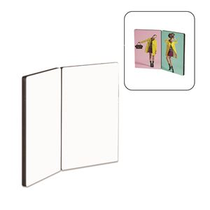 "Picture of Dye Sub Flat-Top Hinged Photo Panels - 3.5"" x 5""  (left & right panels)"