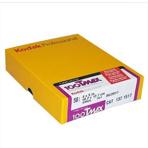 "Picture of Kodak Pro T-MAX 100 Film - TMX 4""x5"" (50 Sheets)"