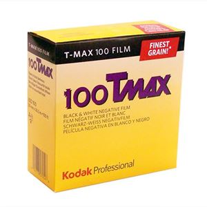 Picture of Kodak Pro T-MAX 100 Film - TMX 35mm x 100ft roll
