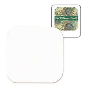 Picture of Blank Sublimation Mahogany Coaster Insert - Square