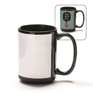 Picture of Blank Sublimation 15oz Mug - Black