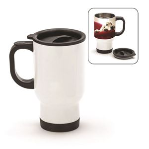 Picture of Blank Sublimation 14oz Travel Mug - White