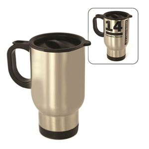 Picture of Blank Sublimation 14oz Travel Mug - Silver