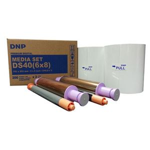 "Picture of DNP DS40 6"" x 8"" Dye-Sub Media Paper"
