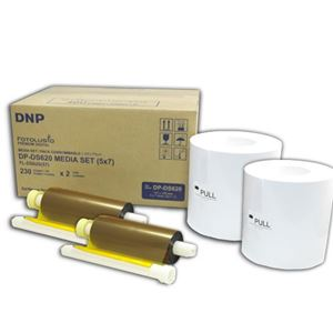 "Picture of DNP DS620A 5"" x 7"" Dye-Sub Media Paper"